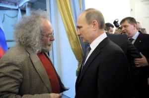 Alexei Wenediktow mit Wladimir Putin